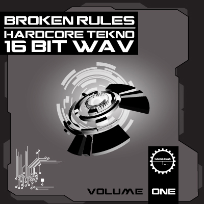 Broken Rules HARDCORE TEKNO SAMPLE PACK  Volume One