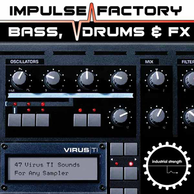 Impulse Factory - Virus TI Bass, Drums & FX