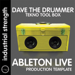 D.A.V.E. The Drummer: Tekno Toolkit Ableton Live Template